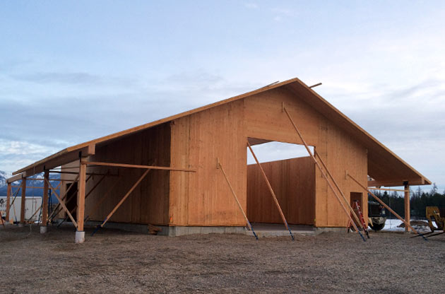CLT Construction for Residential and Commerical in Montana