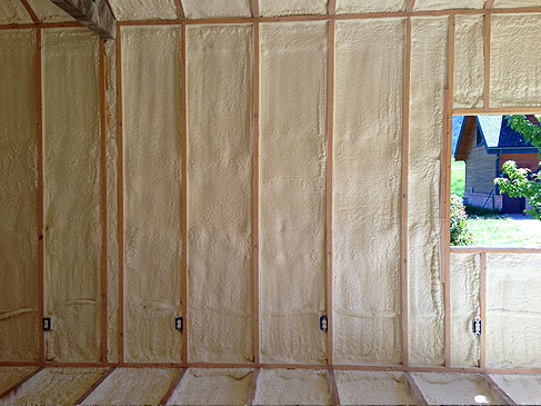 Spray Foam Insulatation in Montana